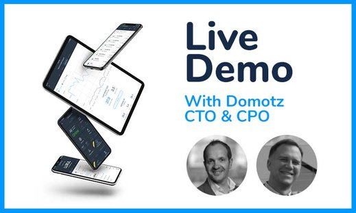 Domotz Live Demo Event - August 4th, 2020