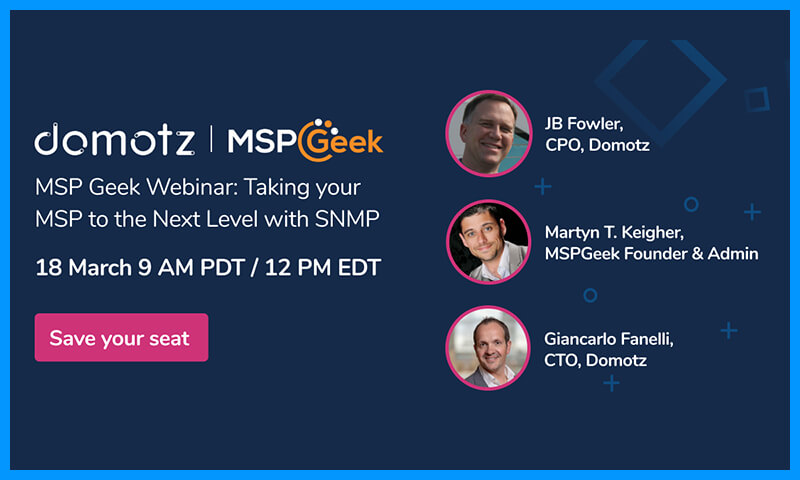 Take your MSP to the next level with SNMP